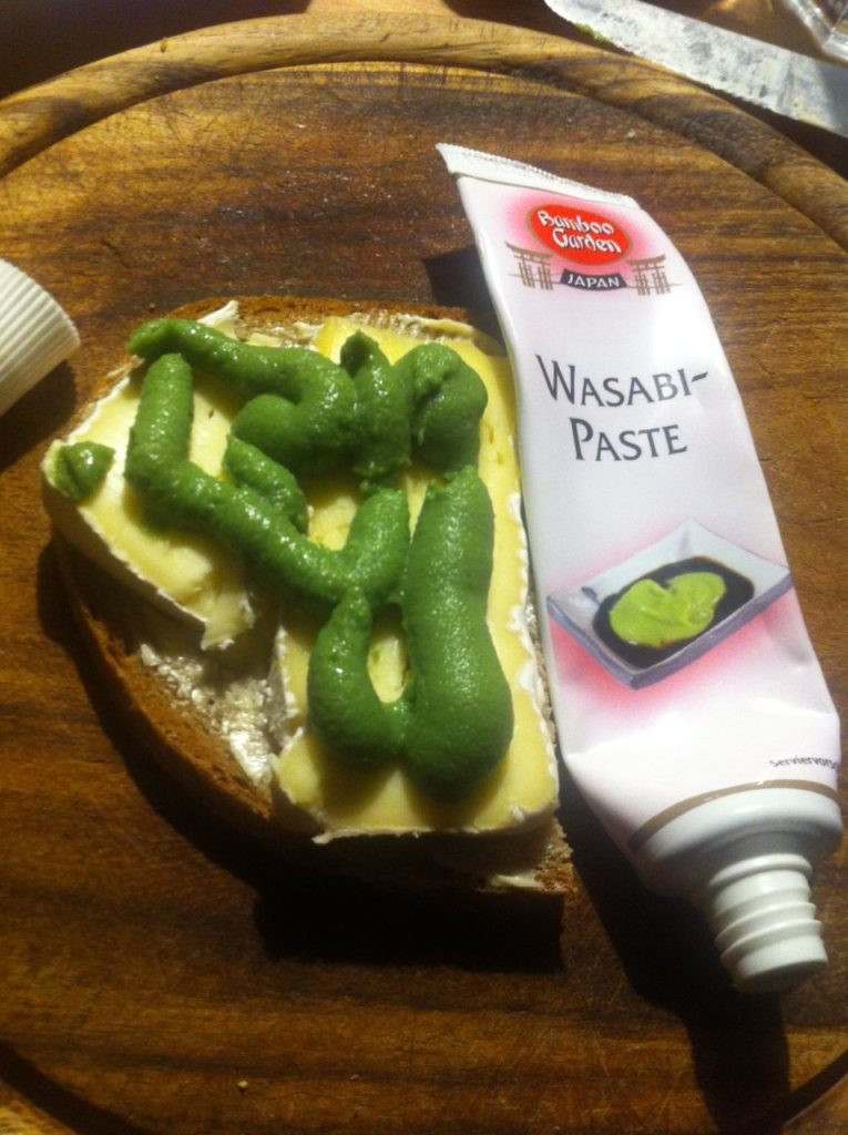 Wasabi-Paste=Meerrettich